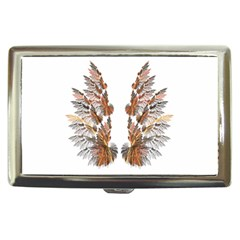Brown Feather wing Cigarette Box