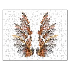 Brown Feather Wing Jigsaw Puzzle (rectangle)