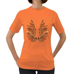 Brown Feather wing Dark Colored Womens'' T-shirt