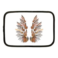Brown Feather wing 10  Netbook Case