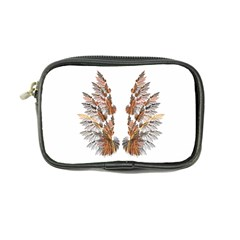 Brown Feather wing Ultra Compact Camera Case