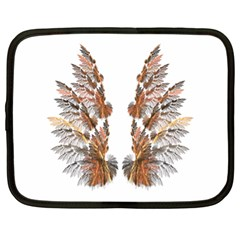 Brown Feather wing 13  Netbook Case