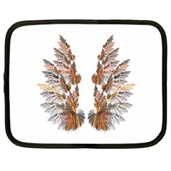Brown Feather wing 15  Netbook Case