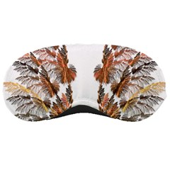 Brown Feather wing Sleep Eye Mask