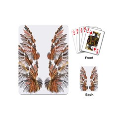 Brown Feather wing Playing Cards (Mini)