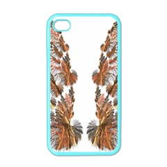 Brown Feather wing Apple iPhone 4 Case (Color)