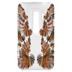 Brown Feather wing HTC Evo 3D Hardshell Case
