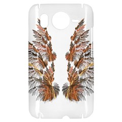 Brown Feather wing HTC Desire HD Hardshell Case