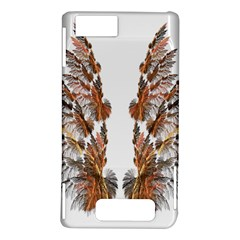 Brown Feather wing Motorola Droid X / X2 Hardshell Case