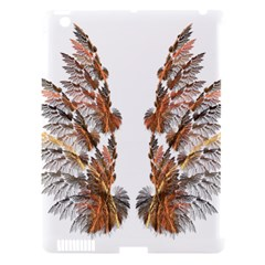 Brown Feather wing Apple iPad 3/4 Hardshell Case (Compatible with Smart Cover)