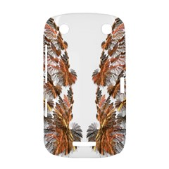 Brown Feather wing BlackBerry Curve 9380 Hardshell Case