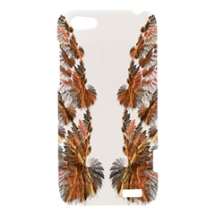 Brown Feather wing HTC One V Hardshell Case