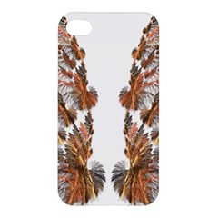Brown Feather wing Apple iPhone 4/4S Premium Hardshell Case
