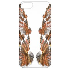 Brown Feather wing Apple iPhone 5 Classic Hardshell Case