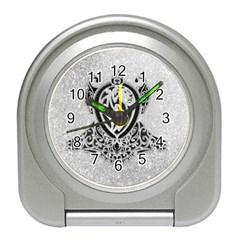 Diamond Bling Lion Desk Alarm Clock