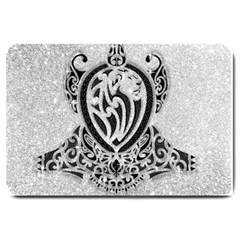 Diamond Bling Lion Large Door Mat