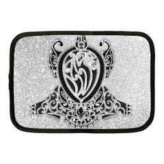 Diamond Bling Lion 10  Netbook Case