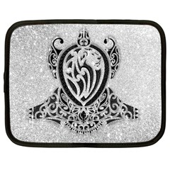 Diamond Bling Lion 12  Netbook Case