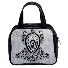 Diamond Bling Lion Twin-sided Satched Handbag