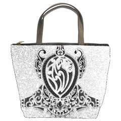 Diamond Bling Lion Bucket Handbag