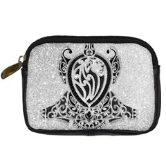 Diamond Bling Lion Compact Camera Case