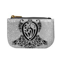 Diamond Bling Lion Coin Change Purse