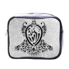 Diamond Bling Lion Single-sided Cosmetic Case