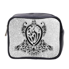 Diamond Bling Lion Twin-sided Cosmetic Case