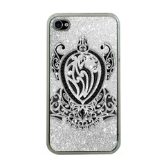 Diamond Bling Lion Apple iPhone 4 Case (Clear)