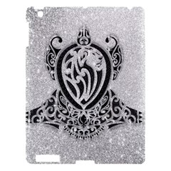 Diamond Bling Lion Apple Ipad 3/4 Hardshell Case
