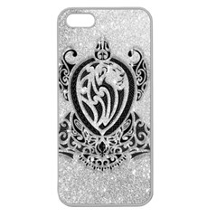 Diamond Bling Lion Apple Seamless iPhone 5 Case (Clear)