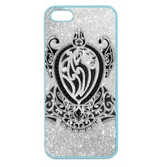 Diamond Bling Lion Apple Seamless Iphone 5 Case (color)