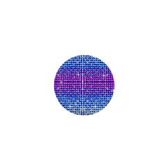 Rainbow Of Colors, Bling And Glitter Mini Button (round)