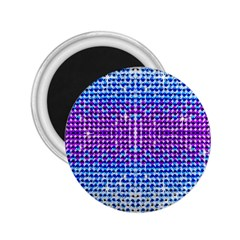 Rainbow of Colors, Bling and Glitter Regular Magnet (Round)
