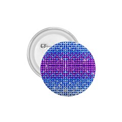 Rainbow of Colors, Bling and Glitter Small Button (Round)
