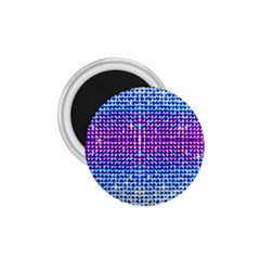 Rainbow of Colors, Bling and Glitter Small Magnet (Round)