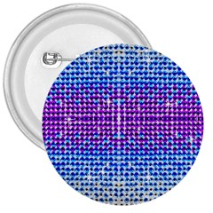 Rainbow Of Colors, Bling And Glitter Large Button (round)