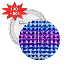 Rainbow of Colors, Bling and Glitter 100 Pack Regular Button (Round)