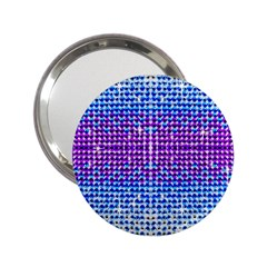 Rainbow of Colors, Bling and Glitter Handbag Mirror
