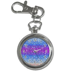Rainbow of Colors, Bling and Glitter Key Chain & Watch