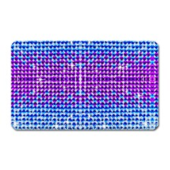 Rainbow of Colors, Bling and Glitter Large Sticker Magnet (Rectangle)