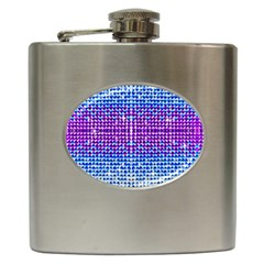 Rainbow of Colors, Bling and Glitter Hip Flask