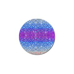 Rainbow Of Colors, Bling And Glitter 10 Pack Golf Ball Marker