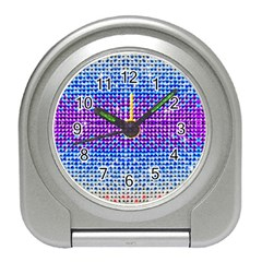 Rainbow of Colors, Bling and Glitter Desk Alarm Clock