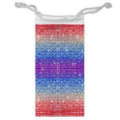 Rainbow of Colors, Bling and Glitter Glasses Pouch