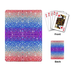 Rainbow of Colors, Bling and Glitter Standard Playing Cards