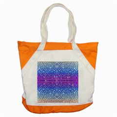 Rainbow of Colors, Bling and Glitter Snap Tote Bag