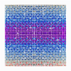 Rainbow of Colors, Bling and Glitter Single-sided Large Glasses Cleaning Cloth