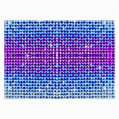 Rainbow Of Colors, Bling And Glitter Single Sided Handkerchief