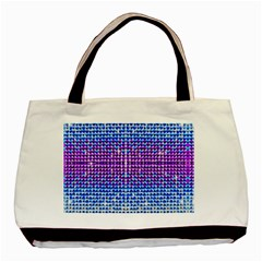 Rainbow of Colors, Bling and Glitter Twin-sided Black Tote Bag